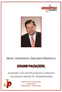 Notenumschlag_Buergermeister Hermann Gruber-Marsch