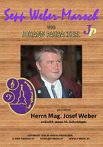 Sepp Weber-Marsch_Notenumschlag